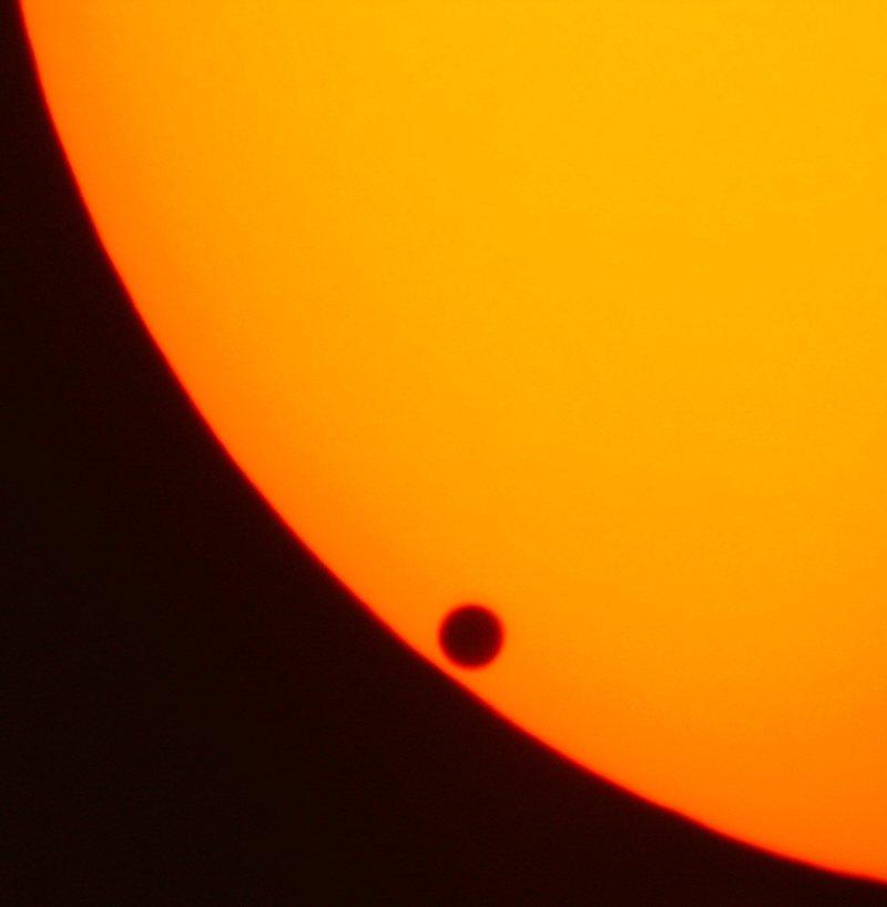 گذر سیاره زهره از مقابل خورشید
